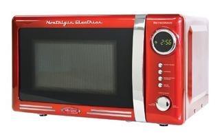Nostalgia Rmo770red Horno Microondas Digital 700 Watts