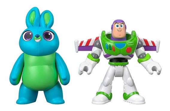 Imaginext - Toy Story 4 Buzz E Bunny - Mattel
