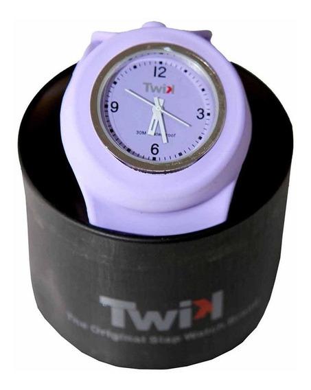 Relógio Unissex Twik Slap White Original Frete Grátis