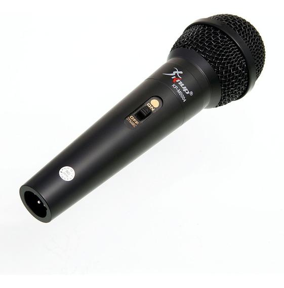 Microfone Dinâmico Profissional C/ Fio 4m P10 M0004