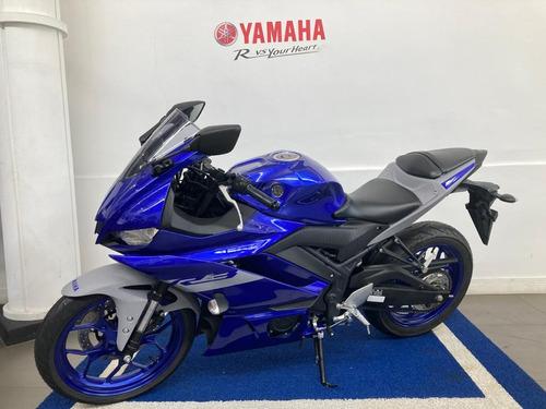 Yamaha R3 Azul