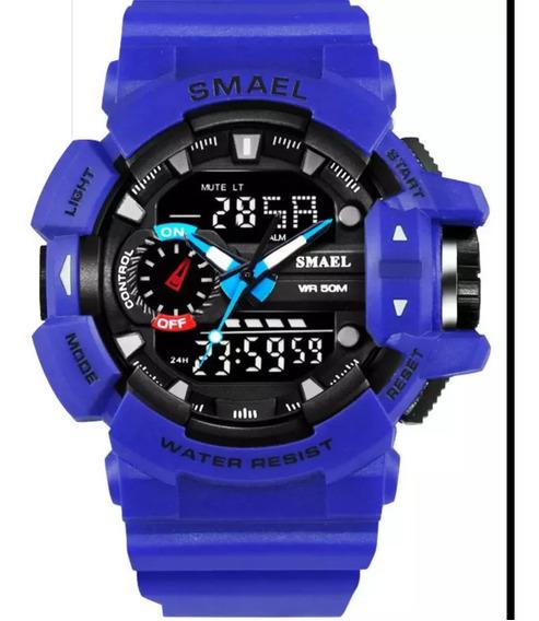 Relógio Smael Analógico Digital