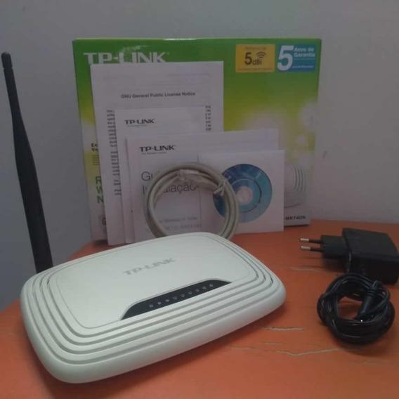 Roteador Tp-link 150 Mbps Funcionando Perfeitamente - Usado