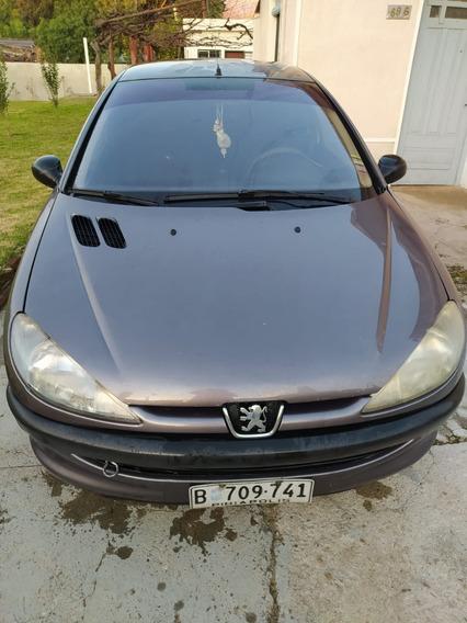 Peugeot 206 Año 2003 1.4 Xr Gris 3 Puertas