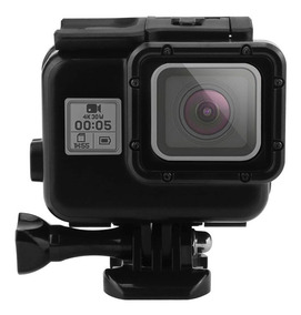 Caixa Estanque Black Gopro Hero7 6 5 Black - Mergulho 45mts