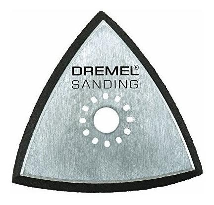 Plato De Lijado Con Velcro Dremel Muliti-max Mm11