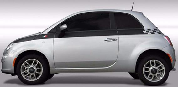 Faixa Lateral Fiat 500 Importada (branca)