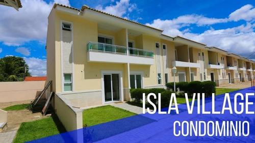 Casa Com 3 Dormitórios À Venda, 76 M² Por R$ 273.000,00 - Barroso - Fortaleza/ce - Ca0265