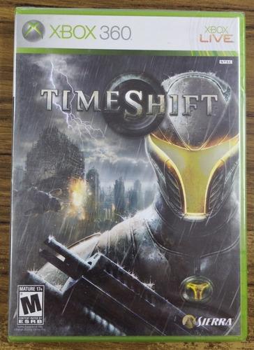 Timeshift. Xbox 360. Nuevo Y Sellado