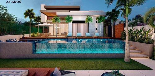 Imagem 1 de 4 de Casa Com 4 Dormitórios À Venda, 400 M² Por R$ 3.500.000,00 - Residencial Quinta Do Golfe - São José Do Rio Preto/sp - Ca2641