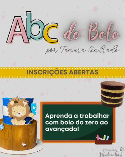 Aula Online De Bolo - Abc Do Bolo