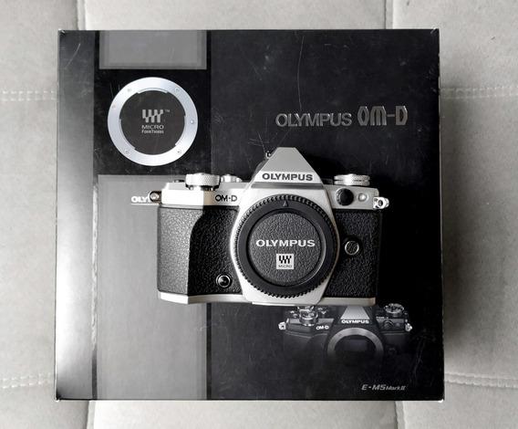 Câmera Olympus Om-d E-m5 Mark Ii Em5 M2 Corpo 4900 Clicks