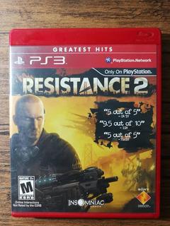 Resistance 2 Playstation 3 Ps3 Excelente Estado !!