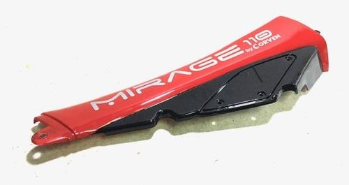 Imagen 1 de 4 de Cacha Intermedia Izquierda Roja Corven Mirage 110 R1