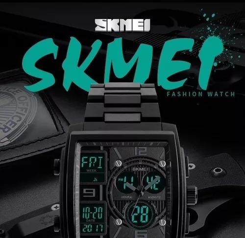 Relógio Skmei Ana/dig Caixa Quadrada