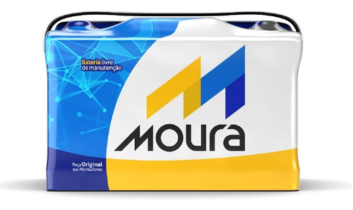 Imagen 1 de 10 de Baterias Moura 12x45 Envios A Domicilio A Capital