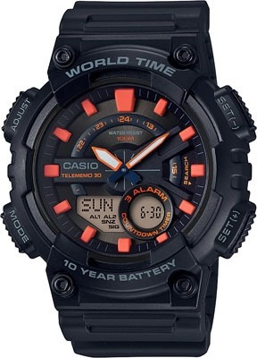 Relógio Casio Masculino Aeq-110w-1a2vdf