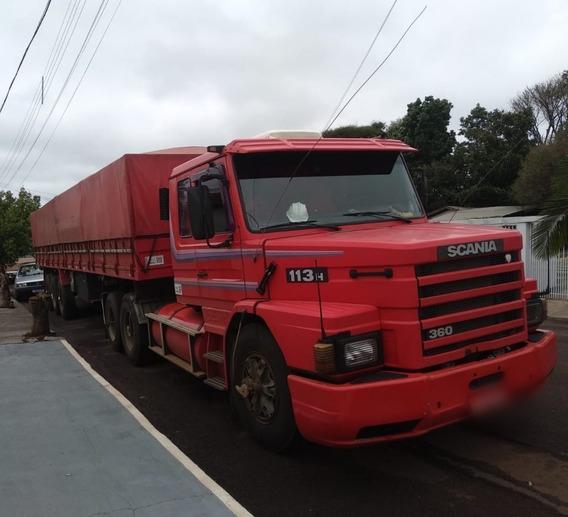 Scania T-113 H 360 6x2