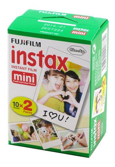 Mini Filme Instax 20 Folhas Por Caixa 1 Caixa