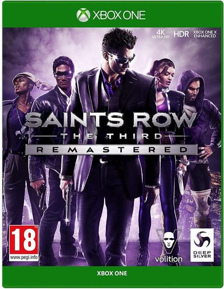 Saints Row The Third Remastered Xbox One + 1 Jogo Brinde **