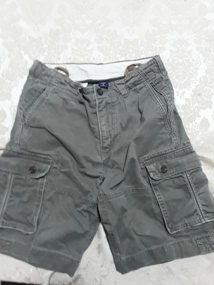 Short De Jean Original Gap, Para Chicos, Talle 12. Importado