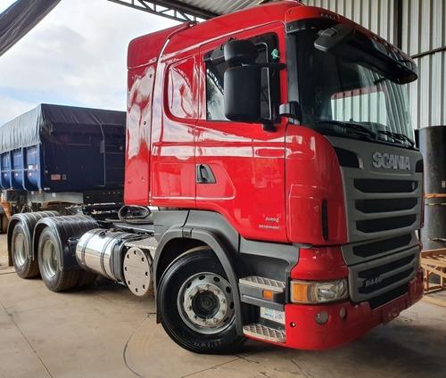 Scania R440 6x4 Ano 2013 / 2013   Cavalo Traçado Retarder