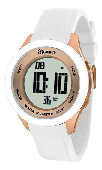 Relógio X Games Feminino Digital Xmppd391 Bxbx Borracha