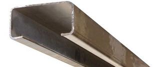 Perfil C Negro *** 100x50x15 (2mm) *** Barra De 12 Mts.