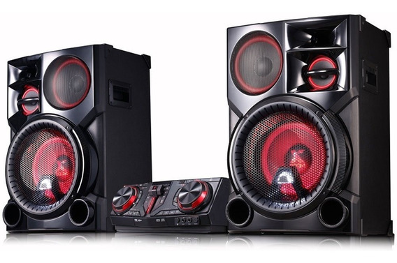 Mini System Lg X Boom Bluetooth Cd Usb Cj98 2700w