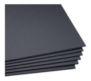 Foamboard Negro 50x70 5 Mm Placa Plancha Tabla