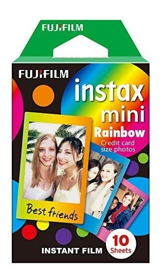 Filme Instax Mini Raibow - 10 Fotos