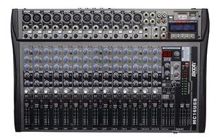 Consola De 16 Canales Con Efectos Moon Audio Pro Mc16usb Sd