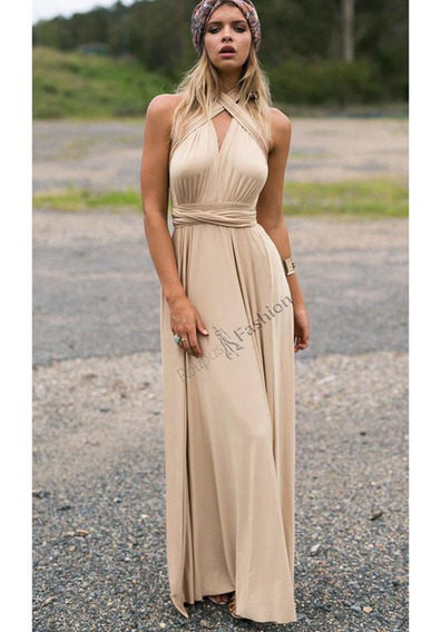 Vestido Feminino Da Moda Diversas Maneiras De Uso Festas