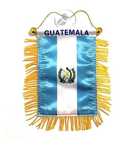 Bandera Guatemala Para Coches, Hogares, Ventanas  De Cristal