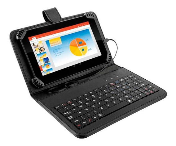 Tablet Multilaser M7s Plus Teclado 8gb 7´ Android Nb283 Loi