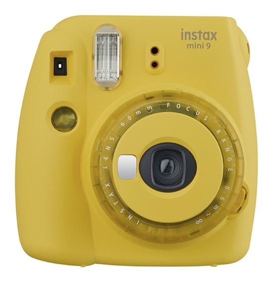 Câmera Instantânea Instax Mini 9 Amarelo