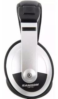 Samson Hp10 Auricular Dj Samson Stereo Profesional Soundgrou