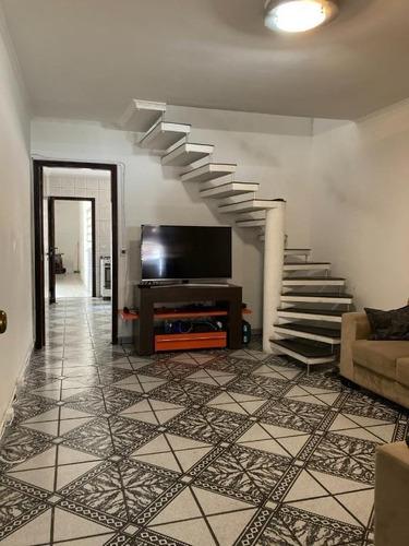 Imagem 1 de 21 de Sobrado Com 3 Dormitórios À Venda, 145 M² Por R$ 405.000,00 - Vila Alzira - Santo André/sp - So1525