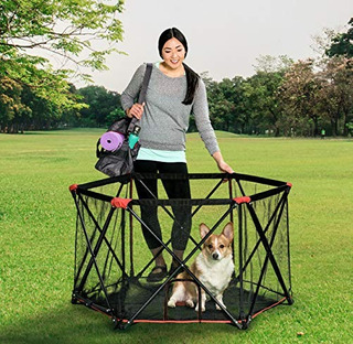 Carlson Pet Products 2700 6-panel Folding Portable Pet Play