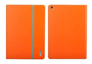 iPad Air Funda Smart Rock Series Original De Piel Naranja