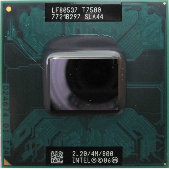 Intel Core2duo T7500 2.20 Ghz 4mb Cache 800mhz Notebook