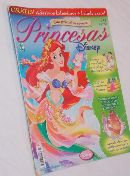 Revista Princesas Disney Nº 33