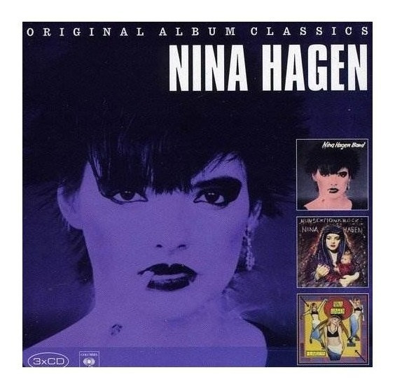 Hagen Nina Original Album Classics Germany Import Cd X 3