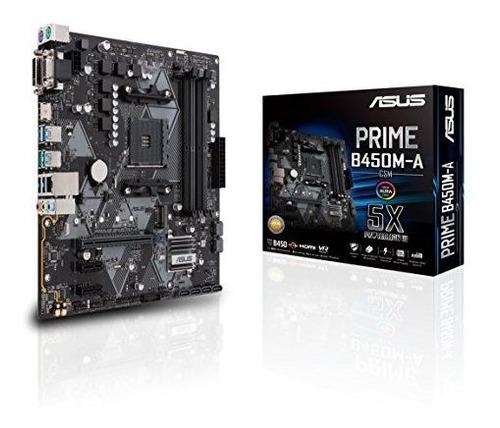 Placa Madre Asus B450 Amd Ryzen 2 Micro Atx Gaming Am4