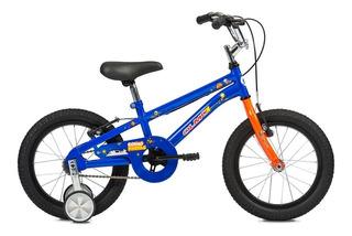 Bicicleta Infantil Niños Olmo Cosmo Nautas Rodado 16 Azul