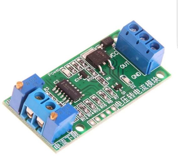 Conversor Tensão Corrente 0-5v 0-24v 4 A 20ma Clp Arduino
