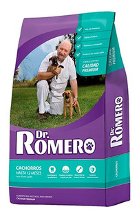 Balanceado Dr Romero Perro Cachorro X 15 Kgs