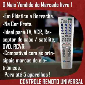 Dvd Atacado Controle Original Universal Som Receptor Remoto