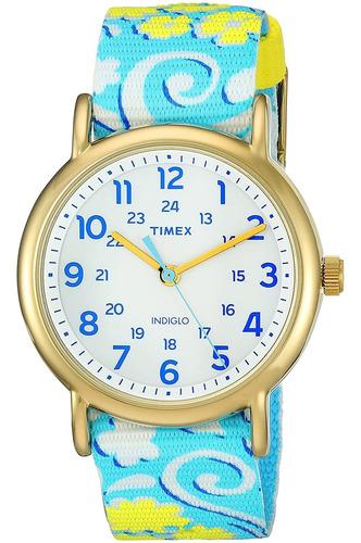 Imagen 1 de 4 de Reloj Para Mujer Timex Weekender - (38 Mm)