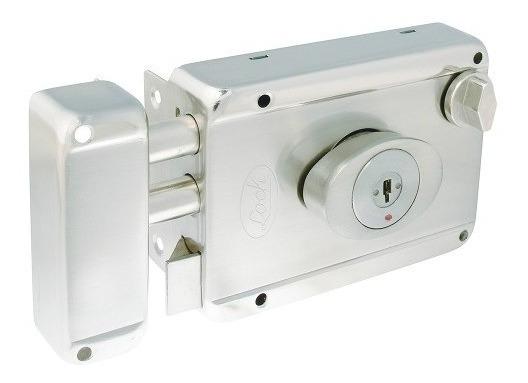 Cerradura De Sobreponer 2 Bulones Llave Ptos L7725adbin Lock
